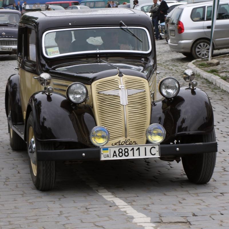 Ретрофест - Шоу ретро авто