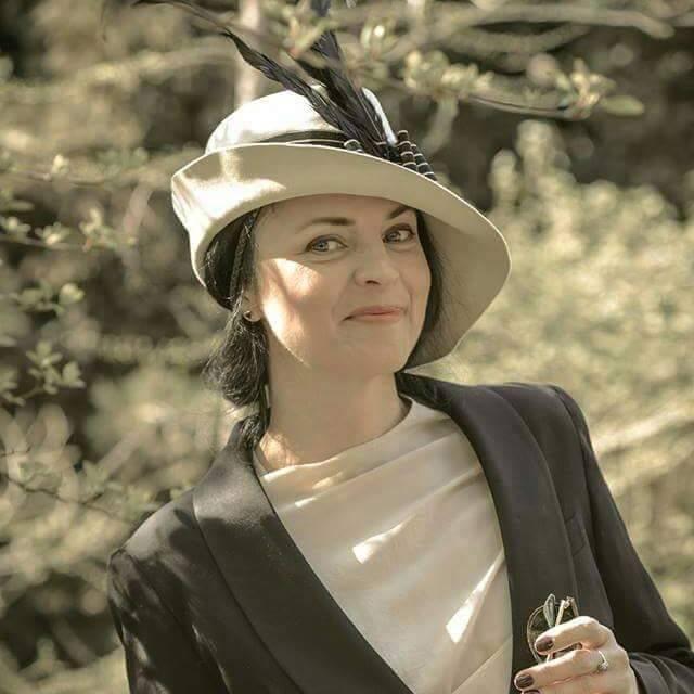 Світлана Савельєва в ретро стилі 20-х років. Фотограф: Irina Glik